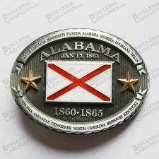 DRAPEAU ALABAMA STATE - ETAT DE L'ALABAMA USA