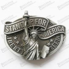 """STATUE DE LA LIBERTE """"STAND FOR AMERICA"""""""