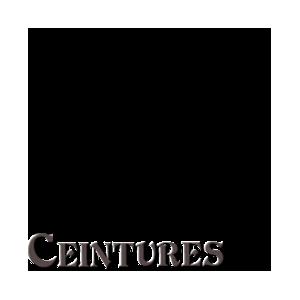 CEINTURES A MONTER SUR BOUCLE